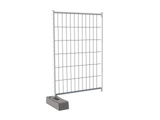 Clôture de chantier mobile: Accessoire